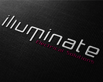 Illuminate Electrical Solutions - Electrician logo, branding, business cards